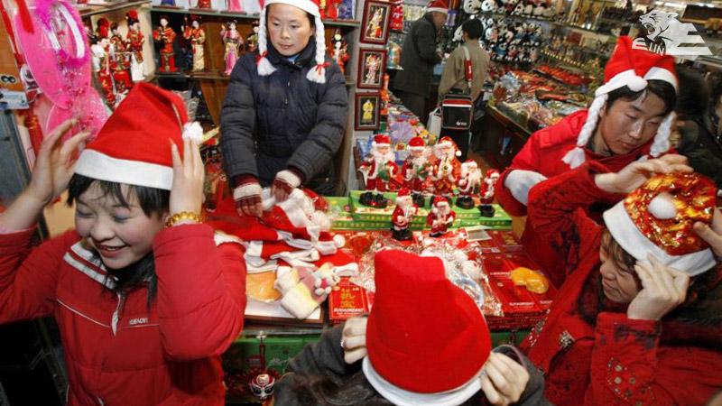 کریسمس در پکن