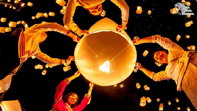 جشنواره فانوس یوانشیا جی