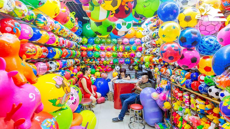 نواحی پنجگانهی بازار فوتین