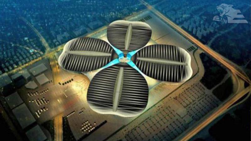 بزرگترین مرکز نمایشگاهی چین