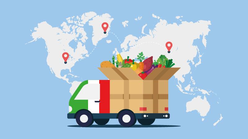آشنایی با شرایط صادرات مواد غذایی در بازرگانی الین