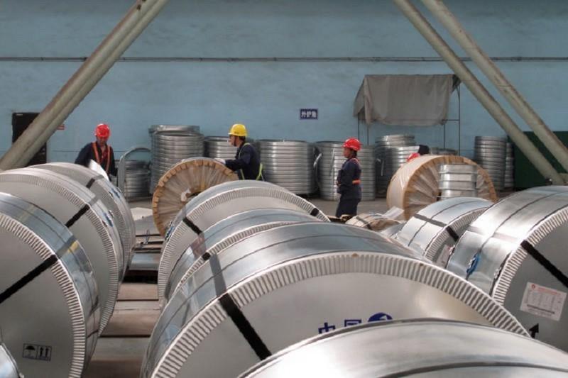 واردات آهن و فولاد از چین